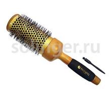 Термобрашинг Hairway Gold 70мм керамика