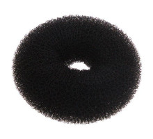 Кольцо чёрное для вечерних причёсок (синтетика)