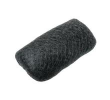 Подкладка для причёсок 180х55мм, брюнет