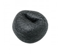 Подкладка для причёсок D 80мм, брюнет