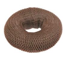 Кольцо тёмно-коричневое для вечерних причёсок (синтетика)