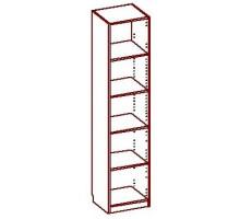 Шкаф-стеллаж Стандарт-1.1