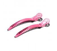 Зажимы для волос Chignon Clip 2 штуки розовые