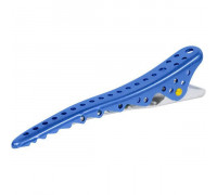 Комплект зажимов Shark Clip (2 штуки), синий, YS-Shark clip blue metal