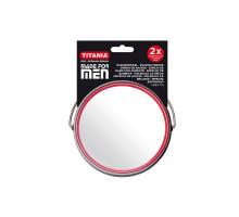 Зеркало Titania MEN настольное двойное D-15,5см 1500/MEN B