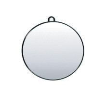 Зеркало Hairway задн.вида круглое 280 мм черное