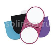 Зеркало Titania двойное склад.кругл. 55 мм 1545.L цв.
