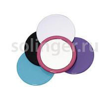 Зеркало Titania карм.круглое 75 мм 1540.L цветное