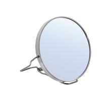 Зеркало двустороннее в металлической оправе